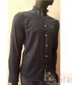 Рубашка мужская синяя Lacoste