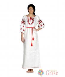 Платье-вышиванка Ружа